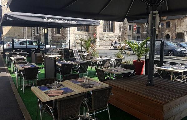 restaurant angers terrasse
